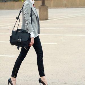 NWT Zara Sparkling Silver/Grey Blazer